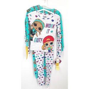 Set of 2 LOL Surprise Pajamas 8